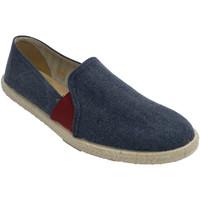 Chaussures Homme Chaussons Calzamur Sneakers pour hommes avec élastiques en azul