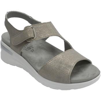Chaussures Femme Sandales et Nu-pieds Made In Spain 1940 Sandale femme plante très douce Lumel en oro