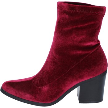Chaussures Femme Bottines Fornarina bottines velours bordeaux