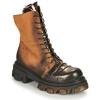 Chaussures Femme Boots Papucei NURIA Marron / Noir
