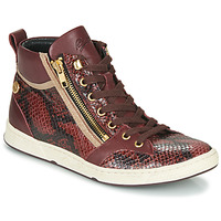 Chaussures Femme Baskets montantes Pataugas JULIA/MIX F4F Raisin