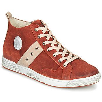 Chaussures Homme Baskets montantes Pataugas JAGGER/CR H4F Brique