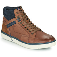 Chaussures Homme Baskets montantes Redskins ZOUK Marron