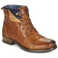 Chaussures Garçon Boots Redskins YEDES CADET Cognac