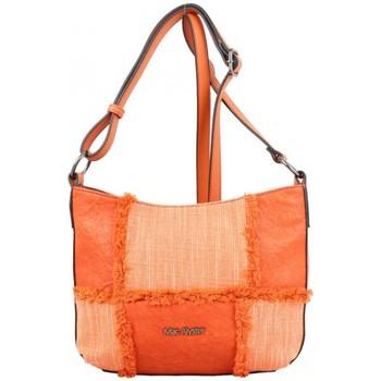 Sacs Femme Sacs Bandoulière Mac Alyster Petit sac bandoulière chaîne  panache orange Multicolor