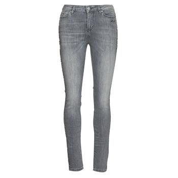 Vêtements Femme Jeans slim Karl Lagerfeld SKINNY DENIMS W/ CHAIN Gris