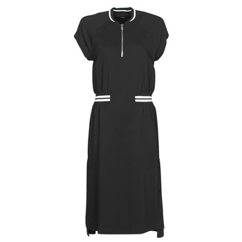 Vêtements Femme Robes courtes Karl Lagerfeld CADY TENNIS DRESS Noir