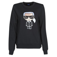 Vêtements Femme Sweats Karl Lagerfeld IKONIK KARL SWEATSHIRT Noir