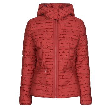 Vêtements Femme Doudounes Desigual NATASHA Rouge