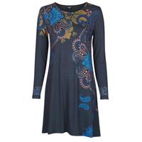 Vêtements Femme Robes courtes Desigual WASHINTONG Bleu