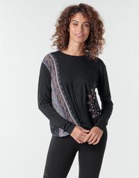 Vêtements Femme T-shirts manches longues Desigual MARSELLA Marine