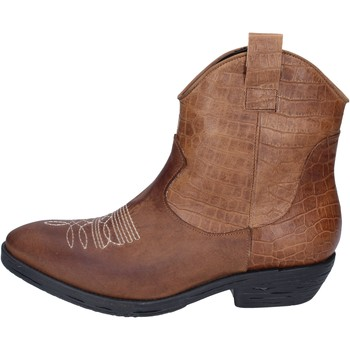 Chaussures Femme Bottines Impicci bottines cuir marron