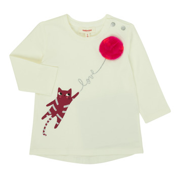 Vêtements Fille T-shirts manches longues Catimini CR10063-11 Rose