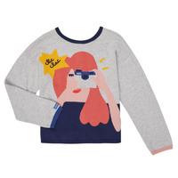 Vêtements Fille Gilets / Cardigans Catimini CR18055-21-C Multicolore