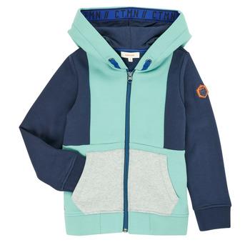 Vêtements Garçon Gilets / Cardigans Catimini CR17044-51-C Bleu
