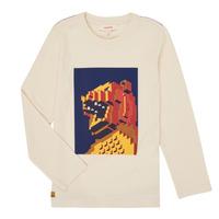 Vêtements Garçon T-shirts manches longues Catimini CR10064-17-C Blanc