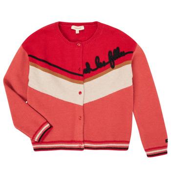 Vêtements Fille Gilets / Cardigans Catimini CR18015-67-J Multicolore