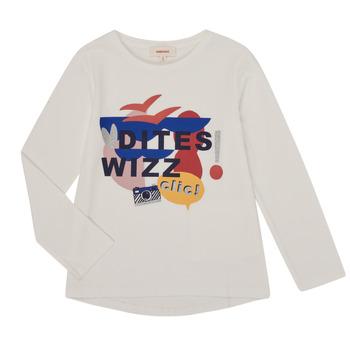 Vêtements Fille T-shirts manches longues Catimini CR10105-19-J Blanc