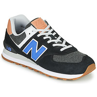 Chaussures Homme Baskets basses New Balance 574 Noir / Bleu
