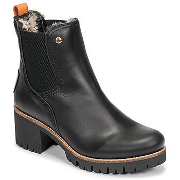 Chaussures Femme Boots Panama Jack PIA Noir