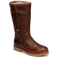 Chaussures Femme Boots Panama Jack BAMBINA Marron