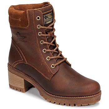 Chaussures Femme Boots Panama Jack PHOEBE Marron