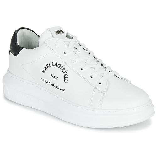 Chaussures Homme Baskets basses Karl Lagerfeld KAPRI MAISON KARL LACE Blanc