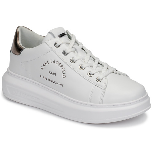 Chaussures Femme Baskets basses Karl Lagerfeld KAPRI MAISON KARL LACE Blanc