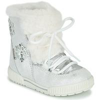 Chaussures Fille Bottes de neige Primigi RIDE 19 GTX Argenté