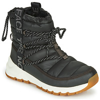 Chaussures Femme Bottes de neige The North Face W THERMOBALL LACE UP Noir / Blanc
