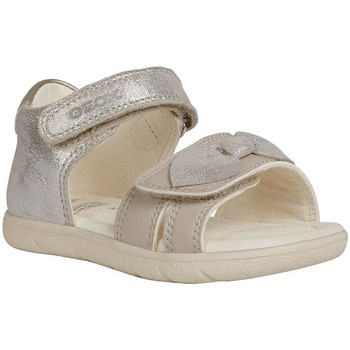 Chaussures Fille Sandales et Nu-pieds Geox B sandal Alul Girl Beige
