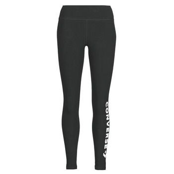 Vêtements Femme Leggings Converse CONVERSE WOMENS WORDMARK LEGGING Noir