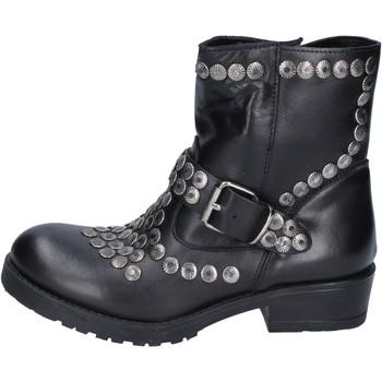 Chaussures Femme Bottines Brawn's BM192 Noir