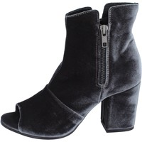 Chaussures Femme Bottines Lemaré bottines velours gris