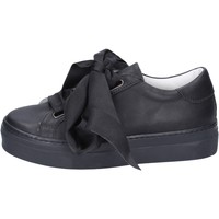 Chaussures Femme Baskets mode Lemaré sneakers cuir noir