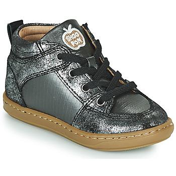 Chaussures Fille Baskets montantes Shoo Pom BOUBA GANG Argenté