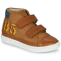Chaussures Garçon Baskets montantes Shoo Pom PLAY ALPHA Marron