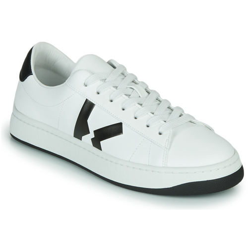 Chaussures Femme Baskets basses Kenzo KENZO KOURT LACE UP SNEAKERS Blanc