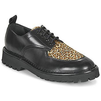 Chaussures Femme Derbies Kenzo K MOUNT Noir / Leopard