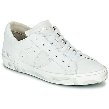 Chaussures Femme Baskets basses Philippe Model PARIS X BASIC Blanc
