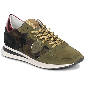 Chaussures Femme Baskets basses Philippe Model TROPEZ Camouflage