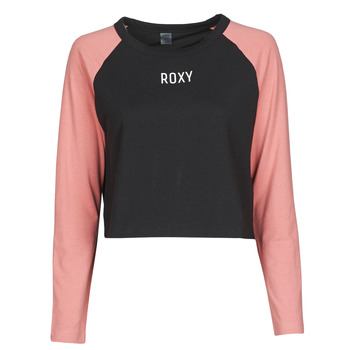Vêtements Femme T-shirts manches courtes Roxy HDG IN T MELODY J TEES KVJ0 Noir / Rose
