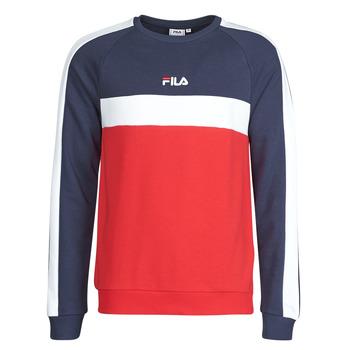 Vêtements Homme Sweats Fila CREW SWEATER Bleu / Blanc / Rouge