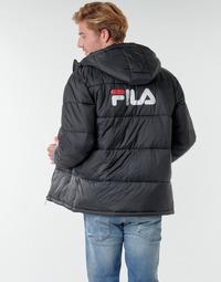 Vêtements Homme Doudounes Fila SCOOTER PUFFER JACKET Noir