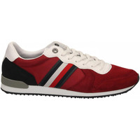 Chaussures Homme Baskets basses Tommy Hilfiger ICONIC MATERIAL MIX xit-regatta-red