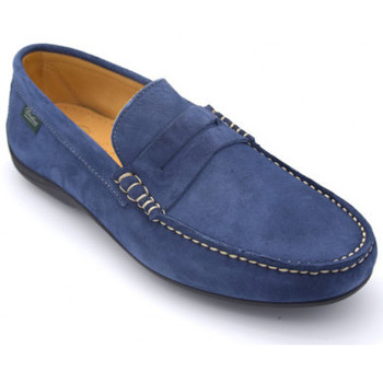 Chaussures Homme Mocassins Paraboot cabrio Bleu