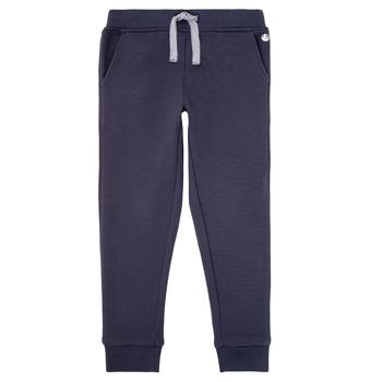 Vêtements Garçon Pantalons de survêtement Petit Bateau LOMINIKO Marine