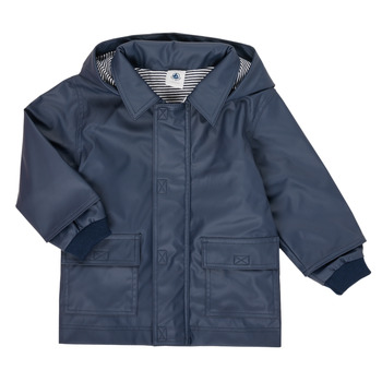 Vêtements Enfant Parkas Petit Bateau FETE Marine