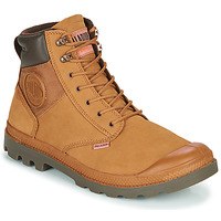 Chaussures Homme Boots Palladium PAMPA SHIELD WP+ LUX Marron