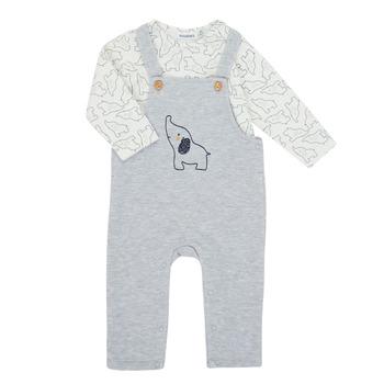 Vêtements Garçon Ensembles enfant Noukie's Z050372 Gris